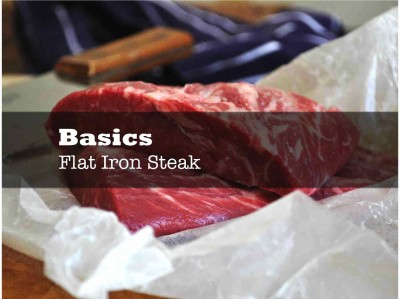 Flat Iron Steak - Frongt PAge