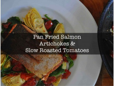 Salmon and Artichokes - Front Page