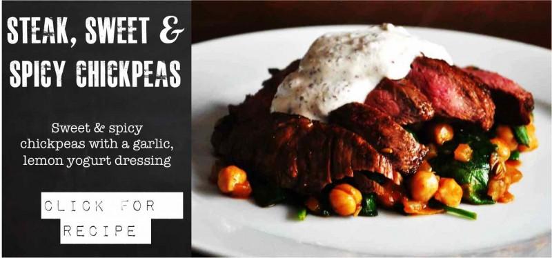 Beef & chick Peas