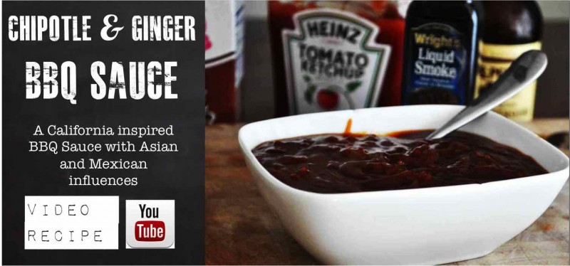 Chipotle and Ginger BBQ Sauce
