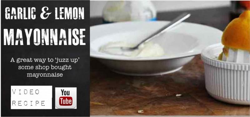 Garlic Lemon Mayonaise
