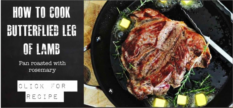 How to make Butterflied Leg of Lamb