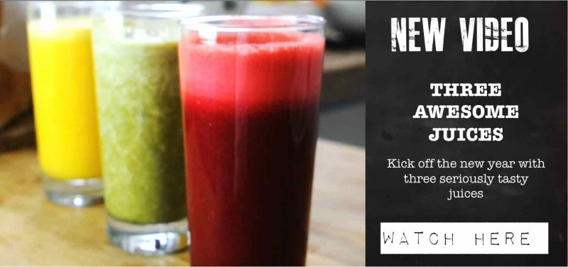 Juicing Website Home Page