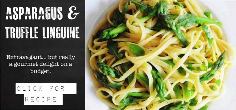 Aparagus Linguine
